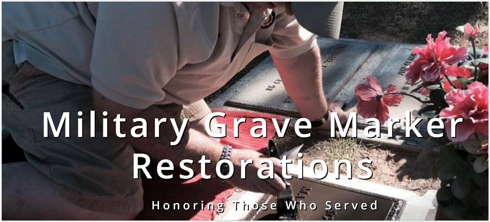 Operation Restore Veterans Bronze Grave Markers