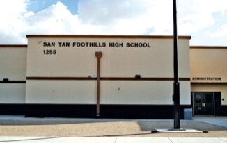 San Tan Foothills High School, part of the Coolidge Unified School District, is one of the schools that may be affected by the budget override.