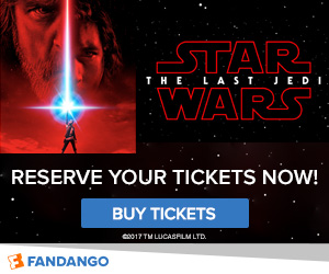Reserve your Star Wars tickets now!