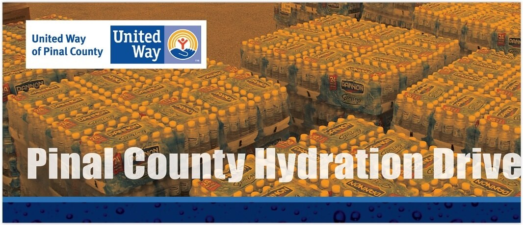 Pinal County Hydration Drive Needs You!