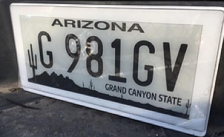 Digital license plates now available as option for Arizona motorists