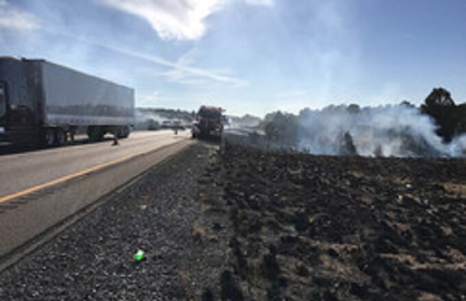 Don't spark a fire: Check chains, don't toss cigarettes along state highways