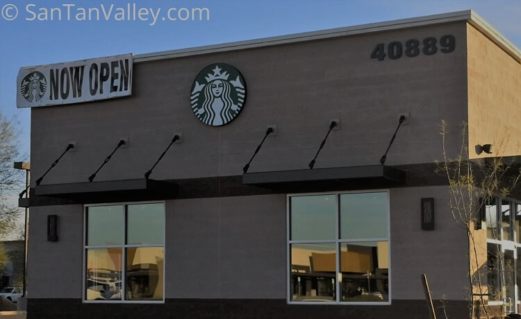 Starbucks Opens Second Standalone Store in San Tan Valley