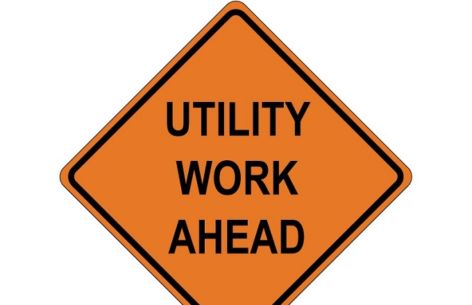 Utility Work on Gantzel Road this Weekend